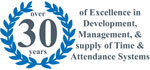 25 YEARS OF EXCELLENCE IN DEVELOPMENT, MANAGEMENT AND SUPPLY OF TIME AND ATTENDANCE SYTEMS