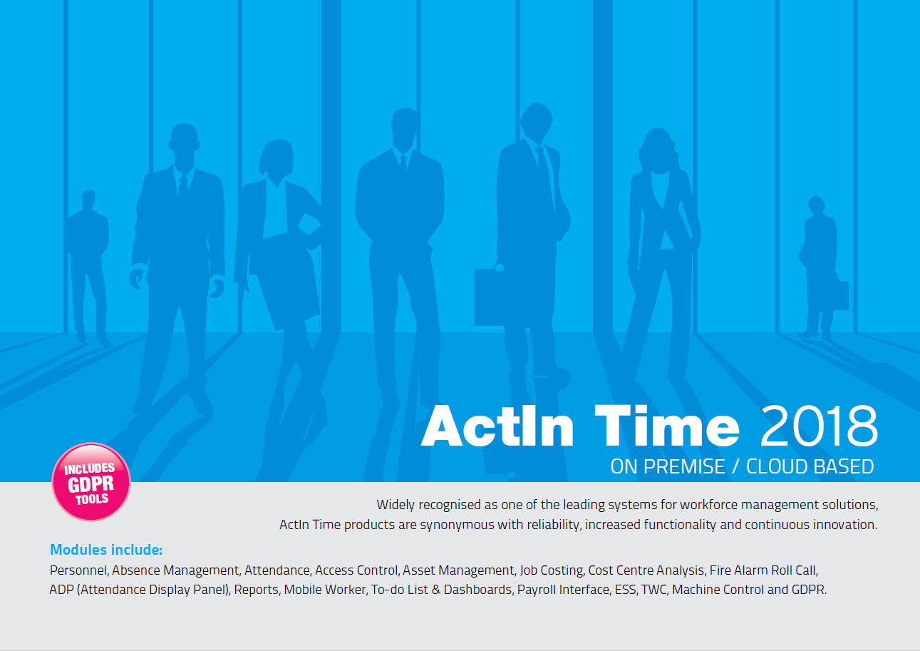 Download the ActIn Time Brochure